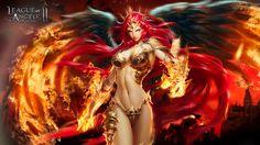 Mikaela League Of Angels II Angel Art Fantasy Women Dark