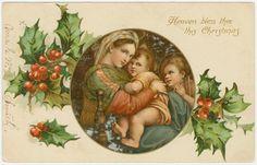 María y el niño Jesús