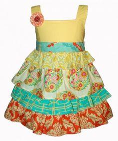 Hopscotch April Dress