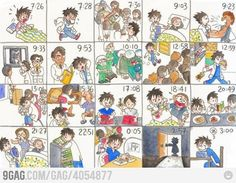 A day of a medical student!!! Sad but true!!!