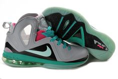 finest selection 17a6c 209ed Lebron 9 PS Eelite South Beach GS Miami Vice 516958 001 Kobe Shoes, Kobe  Bryant