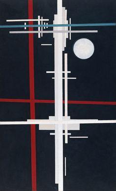 """Ilya Chashnik """"Suprematist Composition"""", 1926 (Russia, Suprematism, 20th cent.)"""