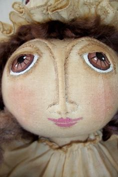 Painting Cloth Doll Faces