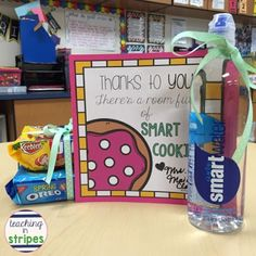 Testing Treats for Students AND Teachers! - Teaching in Stripes Teacher Treats, Teacher Gifts, Testing Treats For Students, Staar Test, Test Anxiety, Classroom Crafts, School Classroom, Anxiety In Children, Thing 1