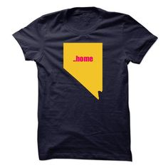 Nevada will always be home T Shirts, Hoodies. Get it now ==► https://www.sunfrog.com/States/Nevada-will-always-be-home.html?57074 $19