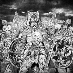 Ulfhednar and viking warriors