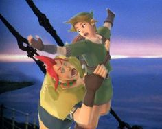 Groose and Link on Titanic