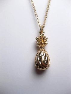 Hey, I found this really awesome Etsy listing at https://www.etsy.com/listing/386481936/gold-pineapple-necklace-24k-gold-plated