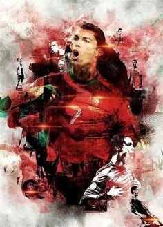 'Digital Art Cristiano Ronaldo' Poster by nikenangela Cristiano Ronaldo Portugal, Cristiano Ronaldo Junior, Ronaldo Real Madrid, Old Trafford, Messi Vs Ronaldo, Ronaldo Juventus, Cristiano Ronaldo Wallpapers, Soccer Photography, Good Soccer Players