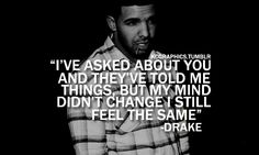 """What's a life with no fun? Please don't be so ashamed. I've had mine, you've had yours. We both know. We know.""... ""Take Care""- Drake feat. Rihanna ♥."