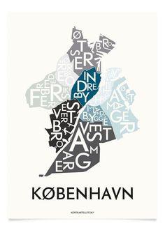 KØBENHAVN - SPECIAL EDITION - 40x55 CM