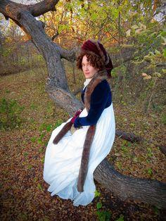 Festive Attyre: 1790s Autumn accessories