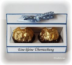 Tute is in German but easy enough to understand. I could make the box with my Silhouette machine? Rocher-Box - für 2 Rocher