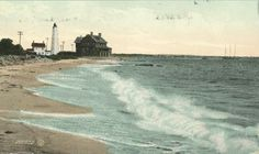 Pequot Beach and the beloved lighthouse.