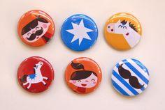 Colorful #magnets design byBora from www.kidsdinge.com