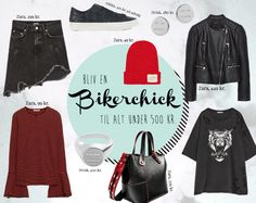 HOW TO DRESS LIKE A BIKERCHICK  | HVISK X ZARA