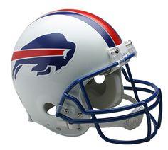 Buffalo Bills 1976-1983 Throwback Riddell Authentic Pro Line Helmet