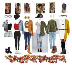 Autumn fall fashion by samlreed on Polyvore featuring polyvore, fashion, style, Glamorous, American Eagle Outfitters, River Island, Abercrombie & Fitch, WearAll, Monki, Wet Seal, ASOS, AG Adriano Goldschmied, Topshop, Miss Selfridge, Charlotte Russe, Journee Collection, rag & bone, Converse, Buccellati, Sole Society, H&M, Ray-Ban, Dorothy Perkins, Nearly Natural and Nili Lotan