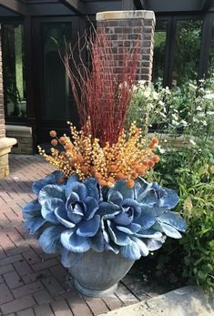 Thrilling About Container Gardening Ideas. Amazing All About Container Gardening Ideas. Winter Container Gardening, Indoor Gardening Supplies, Container Water Gardens, Container Gardening Vegetables, Container Plants, Vegetable Gardening, Growing Flowers, Growing Plants, Growing Vegetables