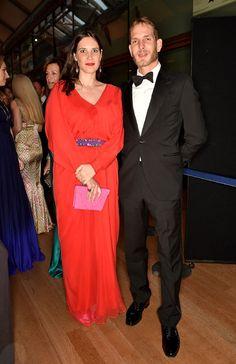 Tatiana Santo Domingo y Andrea Casiraghi, primera aparición juntos tras volver a ser padres - Foto 1