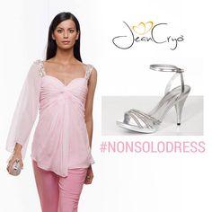 #accessori gioiello #silver a questo completo #PalePink: illuminerete il vostro #look #spring