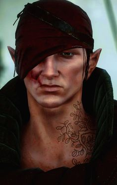 Iorveth <3 - Not the best person in the world, but at least he's got Geralt's back.