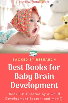 Best books for babies' brain development. Books that help babies' development and learning. #babies #booksforbabies #kidsbooks #childdevelopment #braindevelopment Baby Activities, Educational Activities, Children's Books, Good Books, Classic Baby Books, Newborn Baby Care, Toddler Development, Baby Play, Reading Lists