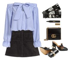 """""""#841"""" by aliensforsale ❤ liked on Polyvore featuring Isa Arfen, Gucci and Yves Saint Laurent"""