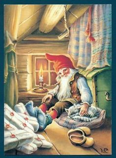 Gnome at home (tomte in Swedish)