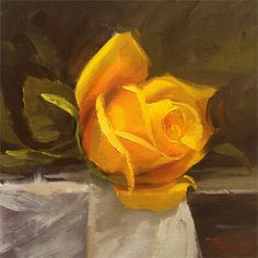 Oil Painting Flowers Art Best Flower Paintings Of All Time Painting Canvas Portrait Painting Unicorn Oil Painting Fall Oil Paintings Flower Painting Canvas, Oil Painting Flowers, Time Painting, Yellow Painting, Oil Painting Abstract, Oil Paintings, Flower Paintings, Painting Lessons, Online Painting