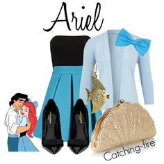 """""""Ariel"""" by catching-fire on Polyvore"""