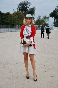 Vintage Preppy Chic - lots of cute style inspiration on this site