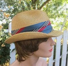 Vintage 1950's1960's Mad Men Straw Tribly by delilahsdeluxe, $17.50