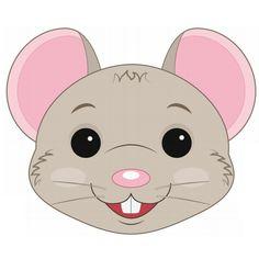 Rat Mask Printable