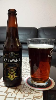 Caravana Common. Cerveza de estilo California Common de la cerveceria mexicana Radical OH.
