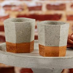 Image result for copper and concrete stationary