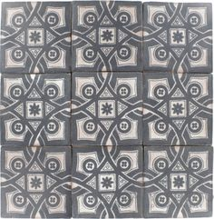 Decorative Porcelain Tile Glamorous Provenzia Decorative Mix Pattern Porcelain Tile  Bath Remodel Decorating Inspiration