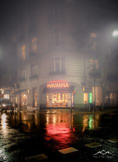 Foggy Night in Buenos Aires