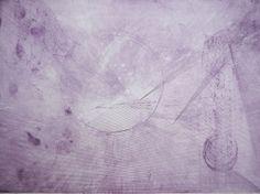 Erina Kawachi(Japan)  MIZU 1  50×70 cm (37.3×50 cm print) Etching, Aquatint   2013