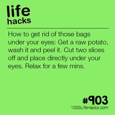 Get Rid Of Those Bags Under Your Eyes – Cherie Nisbet Get Rid Of Those Bags Under Your Eyes Improve your life one hack at a time. 1000 Life Hacks, DIYs, tips, tricks and More. Start living life to the fullest! Lil Debbie, Tips And Tricks, Makeup Tricks, Diy Makeup, Simple Life Hacks, Useful Life Hacks, 1000 Lifehacks, Diy Beauty, Beauty Tips