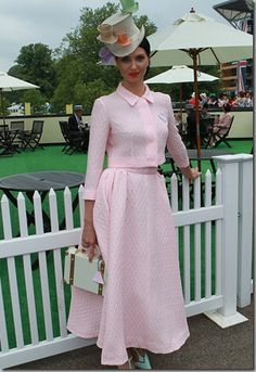 Races Fashion, Fashion Outfits, Women's Fashion, Ascot Ladies Day, Ladies Hats, Derby Outfits, Ascot Outfits, Glamorous Outfits, Ascot Hats