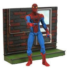Gentle Giant Studios DC722701 Marvel Select Figure - Amazing Spider-Man Movie Spider-Man Figure