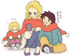 [Dragon Ball Z] Kriliin's family