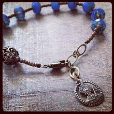 ST. JAMES Chaplet Bracelet by rosarium on Etsy