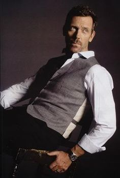 Hugh Laurie... a style icon!