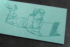 Letterpress-Lesezeichen, gedruckt in Wien. Letterpress, Marque Page, Business Cards, Invitations, Printing, Reading, Nice Asses, Letterpress Printing, Letterpresses
