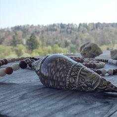 Bracelets, Men, Jewelry, Gemstone Beads, Long Necklaces, Clams, Rhinestones, Silver, Schmuck