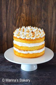 Lemon Meringue Cake - http://www.volrecepten.nl/r/lemon-meringue-cake-7029886.html
