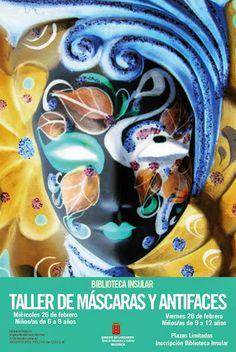 Taller gratis de máscaras y antifaces para niños - Lanzarote | Canarias Free