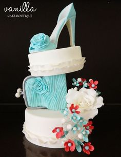 Spring shoe Vanilla cake boutique